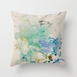 Meditative Conclusion Throw Pillow