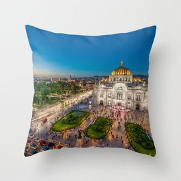 Bellas Artes 2 Throw Pillow