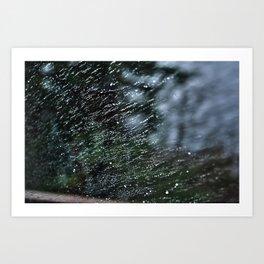Water Drops Art Print