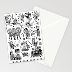 Supernatural Chibis A Stationery Cards