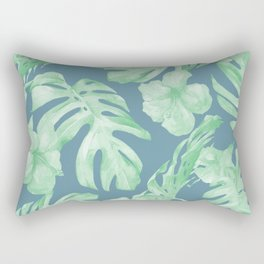 Aloha Leaves Rectangular Pillow