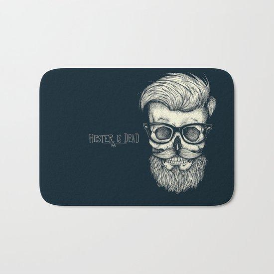 Hipster is Dead II Bath Mat