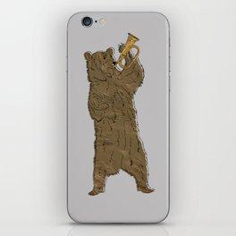 Bear and Bugle iPhone Skin