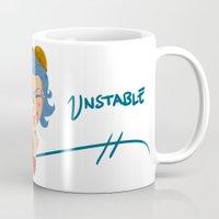 popart Mugs featuring Steampunk Popart by BeyondUnstable