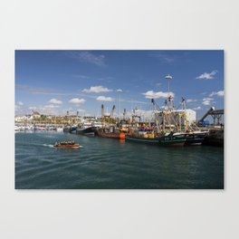 Fishing fleet Kilmore Quay Wexford Canvas Print