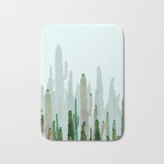 horizont cactus Bath Mat