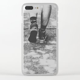 Steps of Dreams Clear iPhone Case
