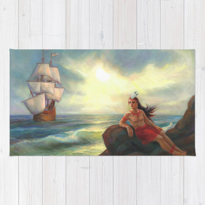 Pocahontas – The Ocean Of Love Rug
