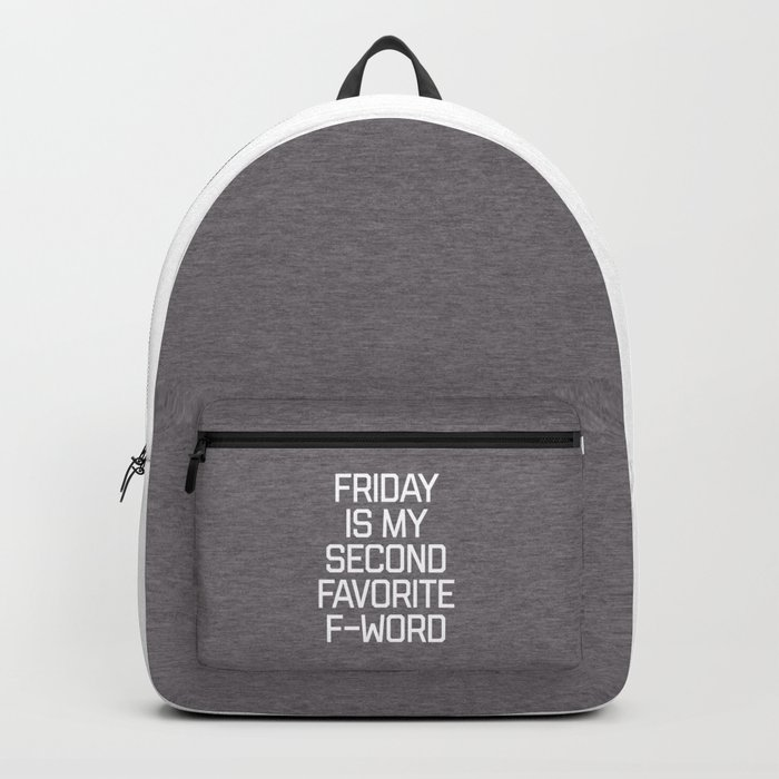 Favorite F-Word Funny Quote Rucksack