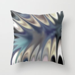 Smudged Colours 18 Throw Pillow