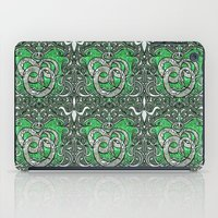 slytherin iPad Cases featuring Slytherin by Cryptovolans