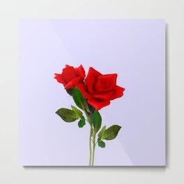 ROMANTIC RED ROSES ART Metal Print