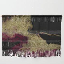 Black Honey - resin abstract painting Wall Hanging