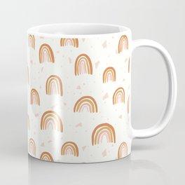 Earthy Terrazzo Rainbows Coffee Mug