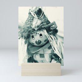 Clown Scarecrow Mini Art Print