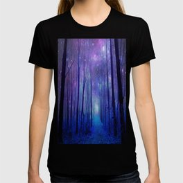 Fantasy Path Purple Blue T-shirt