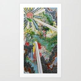 Dappled Art Print