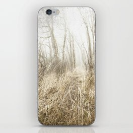 MIMICKED FORMS IN A MYSTERIOUS WOOD iPhone Skin