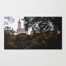 Central Park Fall Series 1 Canvas Print