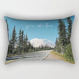 go on adventures Rectangular Pillow