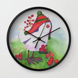 Holiday Tweeter Wall Clock