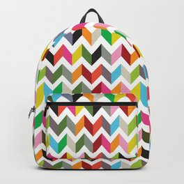 Ziggy chevron Backpack