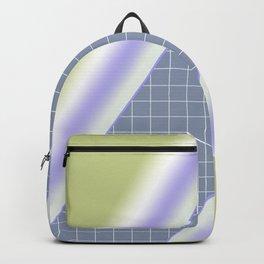 Colorful diagonal stripes . 2 Backpack
