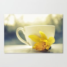 TIME FOR TEA Canvas Print