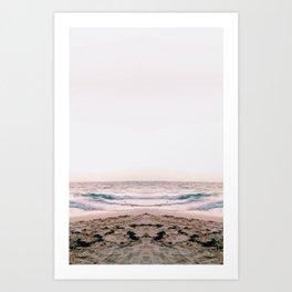 Beach/Sunrise Art Print