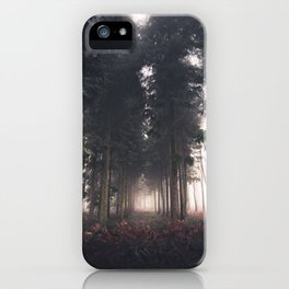 Forests Fog iPhone Case