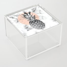 Marble Pineapple 053 Acrylic Box