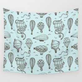Hot Air Balloons Wall Tapestry
