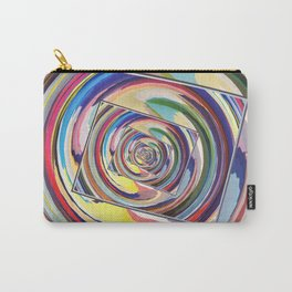 Spinning Colors Abstract Carry-All Pouch