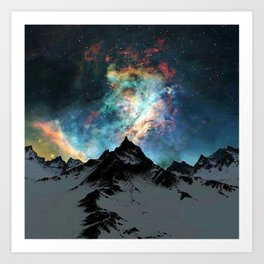 NORTHERN LIGHT ALASKA Art Print