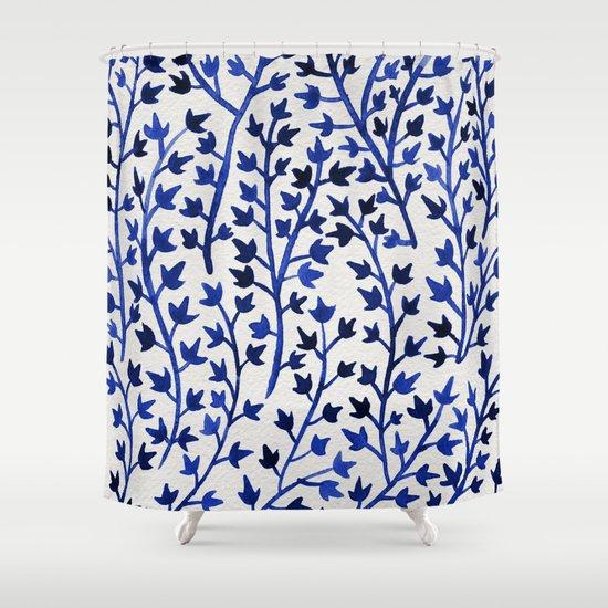 Porcelain Ivy Shower Curtain