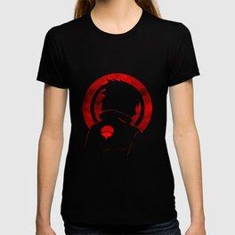 Red Uchiha Sasuke T-shirt
