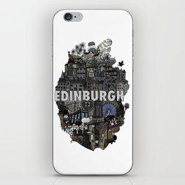 Heart of Edinburgh iPhone Skin