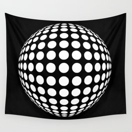Polka Shere Wall Tapestry