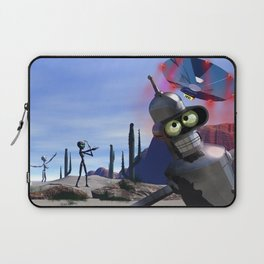 lost in middle of desert, looking for a f**ken Taxi Laptop Sleeve