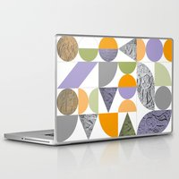 egypt Laptop & iPad Skins featuring Geometric Egypt by k8goff