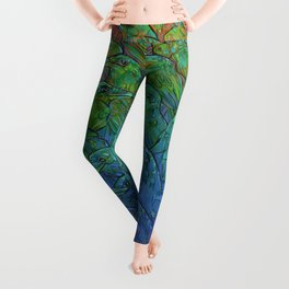 Illustration ; Birds Leggings