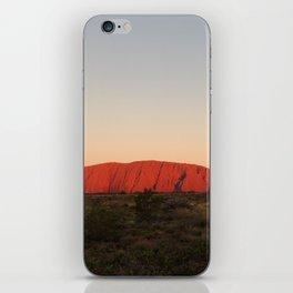 Sunrise at Uluru iPhone Skin