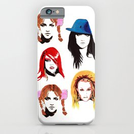Britney Spears Look Book iPhone Case