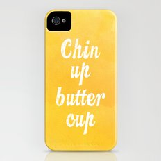 Chin Up Butter Cup Slim Case iPhone (4, 4s)