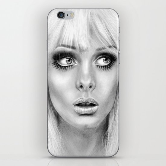 + BAMBI EYES + iPhone & iPod Skin
