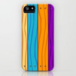 Rainbow Fence iPhone Case