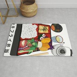 Japanese Bento Box Rug