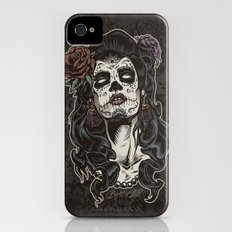 Day of The Dead Woman iPhone (4, 4s) Slim Case