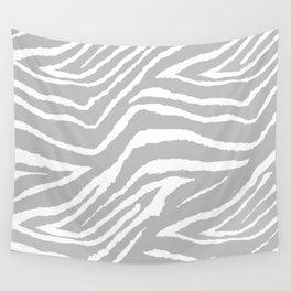 ZEBRA GRAY AND WHITE ANIMAL PRINT 2019 Wall Tapestry