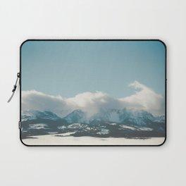 Bridger Mountain Cloud Cover Laptop Sleeve